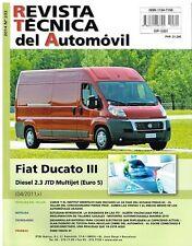 MANUAL DE TALLER FIAT DUCATO III DIESEL 2.3 JTD MULTIJET  R232+REGALO TESTER