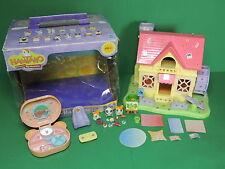 HAMTARO Ham-Ham lot Maison House, 3 figurine Hamster figure, accesoires Hasbro