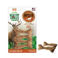Dog Chews Lasting Natural Venison Flavor Digestible Treats Puppy Chewing