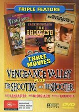 Vengeance Valley - The Shooting - The Shooter (DVD Region 4) -  Like New