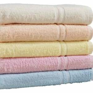 Pack of 2 or 4 Luxury Jumbo Bath Sheets 100%Pure Cotton Soft Bathroom Towels