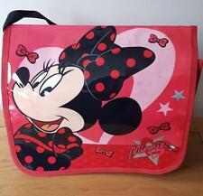 Disney Minnie Mouse Sacoche Rouge Rabat Noir Ruban École Vacances Day's Sortie