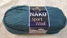 Nako Sport Wool Chunky #185 Petrol Blue 100g Wool & Acrylic