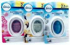Febreze 2 in 1 Bathroom / Small Spaces Air Fresheners Various types of Fragrance