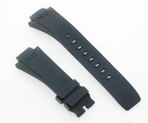 Genuine IWC Aquatimer Dark Blue Rubber 16mm Lug Watch Strap