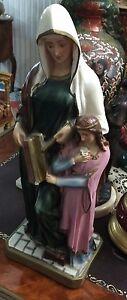 Antica statua Sant'Anna con Madonna Bambina