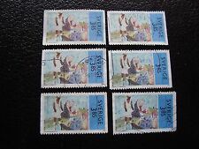 SUEDE - timbre yvert et tellier n° 1931 x6 obl (A29) stamp sweden
