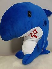 "Chax-GP Gloomy Bear Very Hungry Shark Slitgill Plush Doll Blue 16"" - Brand New"