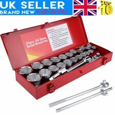 """27x Wrenches Socket Set Extra Large 3/4"""" Dr. Metric & Imperial for Car Trucks"""