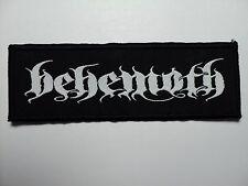BEHEMOTH  LOGO WOVEN  PATCH