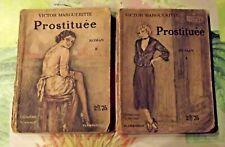Victor Marguerite Prostituée Hotel Femme de Petite Vertu Roman 1 & 2 1936