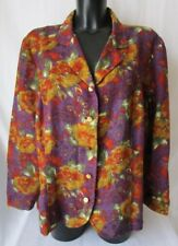 MirHon G.F. FERRE GIACCA Vintage Jacket TG.46 Stimata, fantasia floreale #S