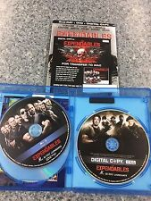 THE EXPENDABLES - BLU-RAY + DVD + DIGITAL COPY (3 DISC SET)