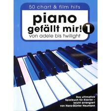 Piano gefällt mir! 50 Chart und Film Hits - Klaviernoten [Musiknoten] 7624