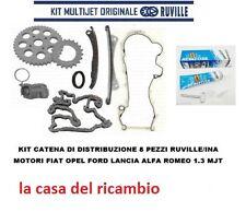 KIT DISTRIBUZIONE A CATENA 8PZ. FIAT LANCIA OPEL ALFA ROMEO FORD MOTORI 1.3 MJT