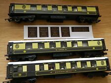 Pullman Name Decals for Hornby Pullman Coaches Your Choice of Names 12 pairs