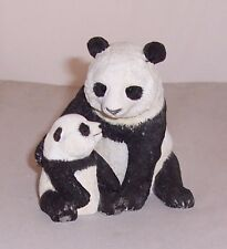 Country Artists Panda and Cub A Tender Moment