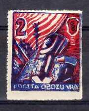 POLOGNE Oflag Camp de Murnau Fischer timbre  n° 14x2C neuf sans gomme