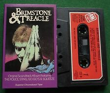 Brimstone & Treacle OST Police Sting Squeeze Go Go's Cassette Tape - TESTED