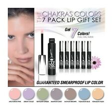 LIP INK Chakra Colors 7 Pack Liquid Lipstick Collection  100% Smearproof