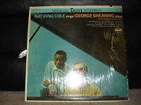 "AM Records SW-1675  Nat King Cole Sings / George Shearing Plays 1963 12"" 33"