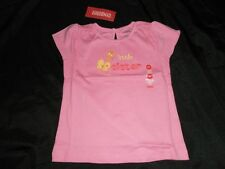 NWT Girls Gymboree SOCIAL BUTTERFLY Shirt Top LITTLE SISTER 4 4T Pink Sis Tee