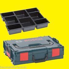BOSCH L-BOXX L-BOX Größe 1  -  102  Sortimo  + Universal-Einlage für Zubehör