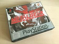 Metal Gear Solid - Platinum - PS1 Sony PlayStation Game COMPLETE