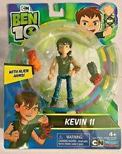 BEN 10 KEVIN 11 w/ ALIEN ARMS ACTION FIGURE **NEW**