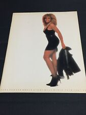 """Tina Turner"" Tourbook Break Every Rule World Tour 1987-88 Booklet"