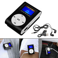 Neu 32GB MP3 Player Tragbare MP3 Musik Player mit FM Radio Funktion, Schwarz