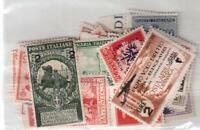 FRANCOBOLLI REGNO E COLONIE  VALORE CAT. 300,00  POCHI DISPONIBILI !!