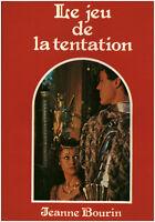 Livre le jeu de la tentation Jeanne Bourin book