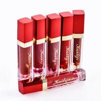 Rouge à lèvres fleur Changement de température Jelly Matte Rouge à lèvres