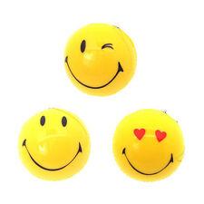 3 pcs Assorted 3D Smiley Face Hanging Air Freshener Freshner Car Home Vanilla