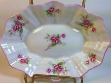 Shelley China Pin /Jelly  Dish in Rose Spray  #13545 on Scalloped Dainty Shape