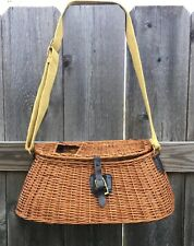 Vintage trout/fly fishing basket