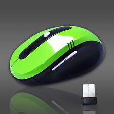 USB Wireless Funkmaus Kabellos Mouse 2,4GHz Optische Notebook PC Computer Maus