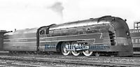 New York Central photo Mercury 4917 Streamline Steam Train Steampunk