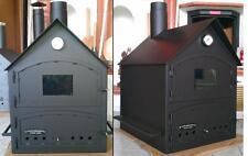 Holzbackofen Deluxe Komfort inkl.Vollausstattung Pizzaofen Flammkuchenofen Ofen