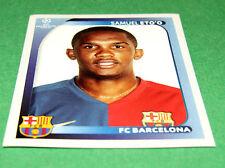 110 SAMUEL ETO'O BACELONA BARCA UEFA PANINI FOOTBALL CHAMPIONS LEAGUE 2008 2009