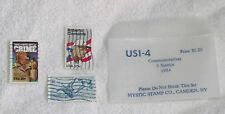 3 - 1984 Cancelled US Commem Postage Stamps Roberto Clemente McGruff Crime Dog