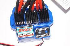 Traxxas E-REVO 1/10 EVX-2 Waterproof 16.8V Brushed ESC Twin Motor/Battery E REVO