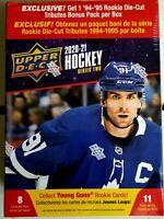 ✅🏒🔥2020-2021 Upper Deck Hockey Series 2 Mega Box- 11 Packs- Factory Sealed