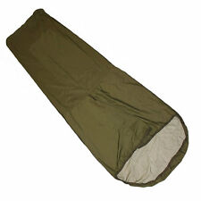 BRITISH ARMY OLIVE BIVI BAG WITH STUFF SACK - USED - WATERPROOF - FREE POSTAGE