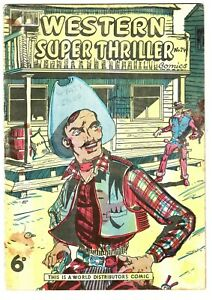 Western Super Thriller comic #74