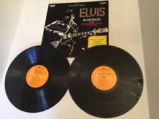 Elvis FROM MEMPHIS TO VEGAS (LSP-6020) InCorrect Credit Label RIGID VINYL