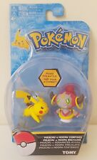 Pokemon Tomy Action Pose Figure - PIKACHU vs. HOOPA CONFINED (2 inch) - New