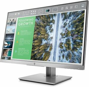 HP Monitor 23.8 Inch Screen LED - Silver HP Model 1FH47A8ABA Widescreen