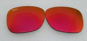 New Ray-Ban RB4165 Justin Replacement lenses RED Mirror 100% Authentic 54mm